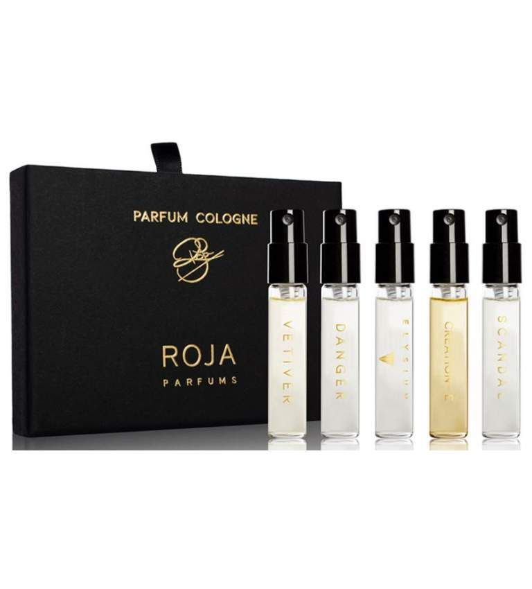Roja Parfums Vetiver Cologne + Danger Cologne + Elysium Cologne + Enigma Cologne + Scandal Cologne